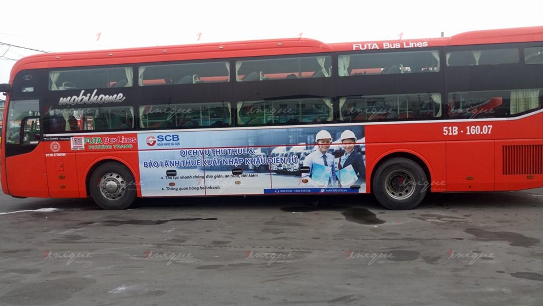 quảng cáo trên phương tiện giao thông