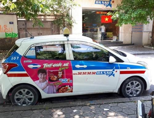 Doanh nghiệp nên book quảng cáo trên hãng taxi lớn hay nhỏ?