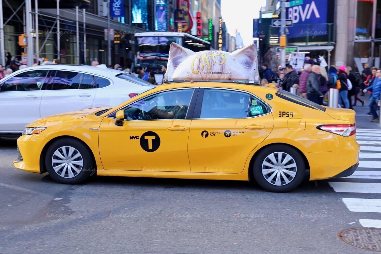 quảng cáo taxi sáng tạo