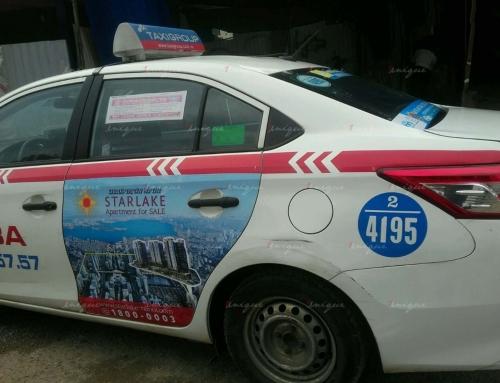 Những lưu ý dành cho ngành bất động sản khi quảng cáo trên xe taxi