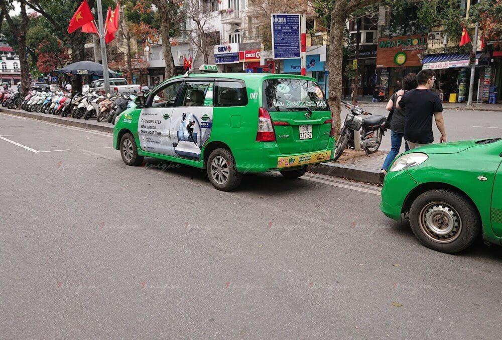 Đo lường hiệu quả quảng cáo trên xe taxi