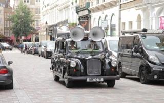 Chiến dịch quảng cáo taxi sáng tạo của AiAiAi Audio