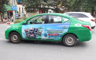 Xe taxi hoạt động trở lại từ 23/4