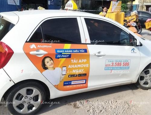 AhaMove triển khai chiến dịch quảng cáo taxi tại Hải Phòng