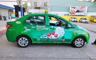 Chiến dịch quảng cáo trên xe taxi siêu khủng của thuốc dạ dày Kremil