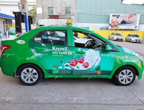 Quảng cáo trên Taxi Mai Linh – Mang thương hiệu lan tỏa khắp Việt Nam