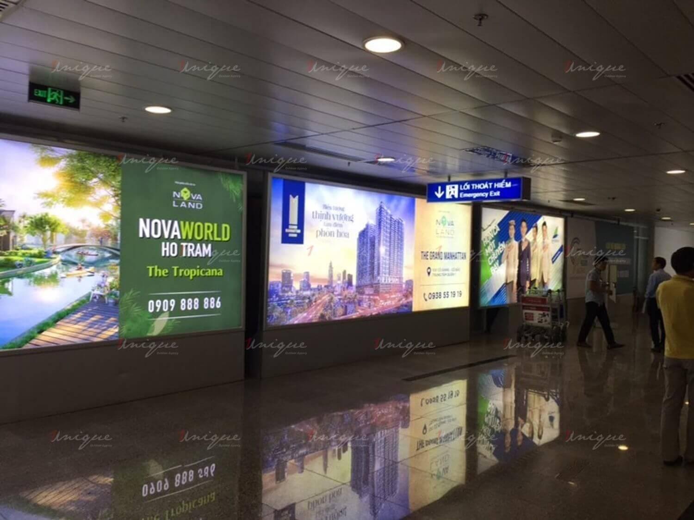 quảng cáo tại sân bay
