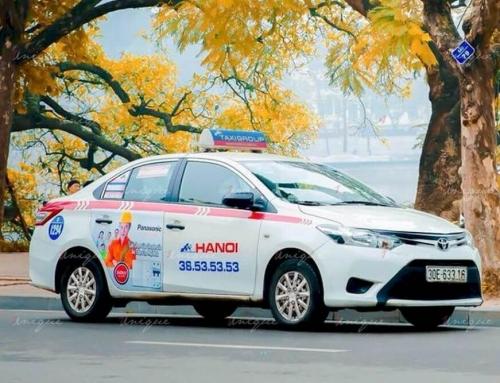 Tổng hợp các đặc điểm của quảng cáo trên taxi tại Việt Nam