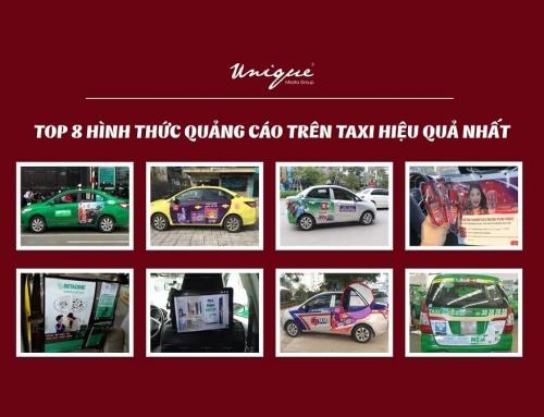8+ Hình thức quảng cáo trên xe taxi ấn tượng và thu hút nhất