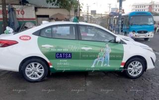 cách quảng cáo taxi hiệu quả