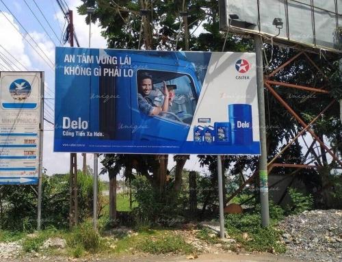 Quảng cáo tại cây xăng (trạm xăng) sở hữu ưu điểm vượt trội