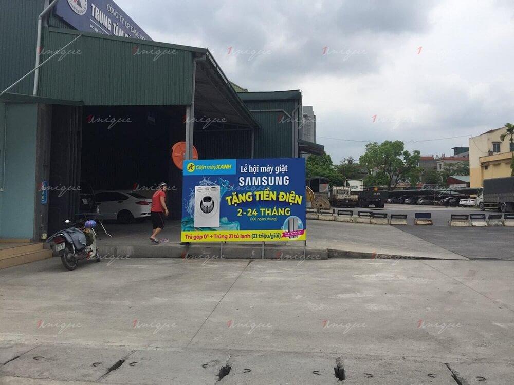 địa điểm quảng cáo ngoài trời